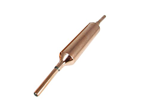 25 Grams Copper Filter Dryer for A/C and Refrigeration with Both Ends Welded. Pack of (1)