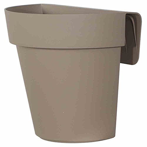 EURO 3 PLAST Vaso Up Con Riserva Cm25 Bianco