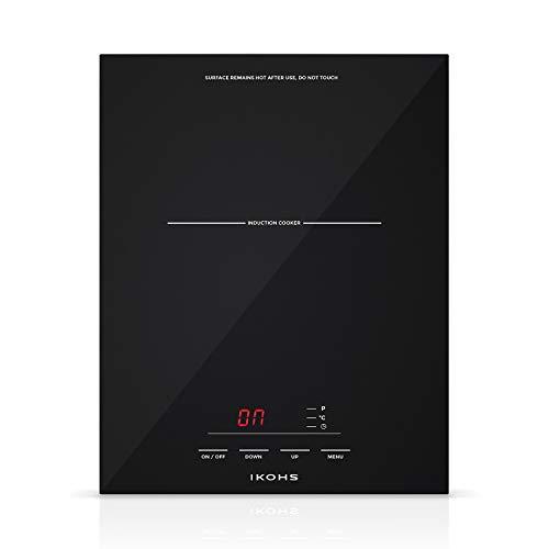IKOHS XST-PIRAX - Placa Inducción Portable (Negro)