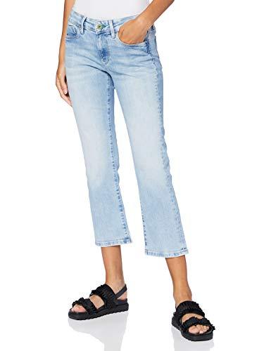 Pepe Jeans Damen Piccadilly 7/8 Straight Jeans, Blau (000Denim 000), W32/L30 (Herstellergröße: 32)