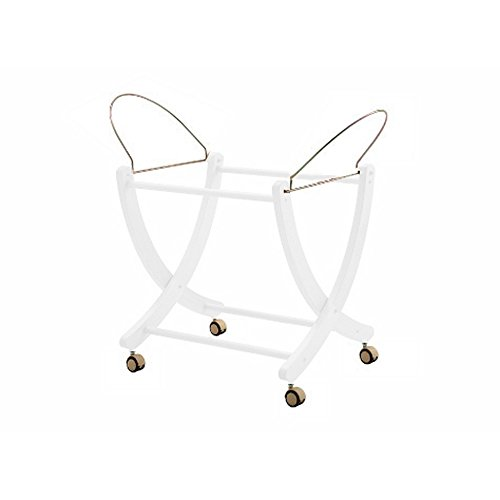 Touche 6500 Table pour plateau Baby paniers (Moses Basket), weiβ