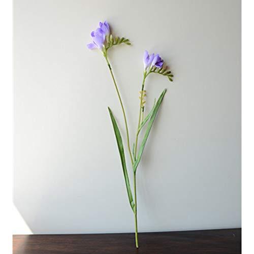 XHDXAD 5Pcs Soie Fleurs Artificielles Fleur Décor De Fête De Mariage Fleurs Maison Vase Jardin Décoration Plantes