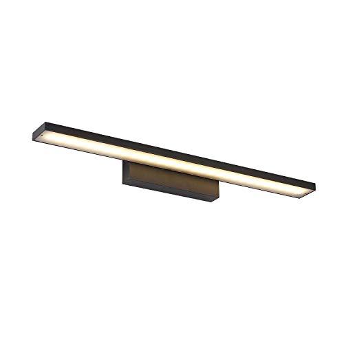 K-Bright 12W LED-Bilderleuchte, Spiegel Wandleuchte, 60cm 720LM LED-Wandleuchte, schwarz, warmweiß