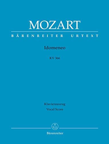 Idomeneo KV 366 - Dramma Per Musica. Klavierauszug
