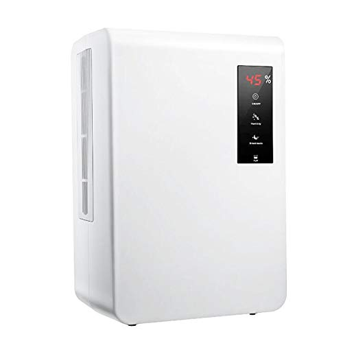 Lowest Prices! CICIN Household Dehumidifier 1.3L/Day Smart Set Humidity Electric Air Dryer, Air Drye...