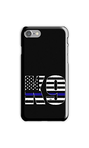 Rhino Armour Slim - Ultra Premium Case -Thin Blue Line Police Dog K9 Canine for New Google Pixel 2 XL 6 Inch - (inch), Made & Printed in The USA