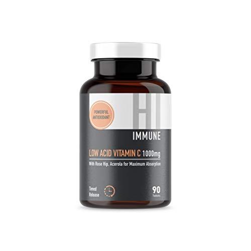 Low Acid Timed Release Vitamin C (90 Tablets)