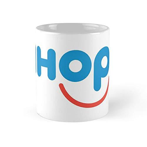 Ihop Coffee Mug 11oz & 15oz Ceramic Tea Cups