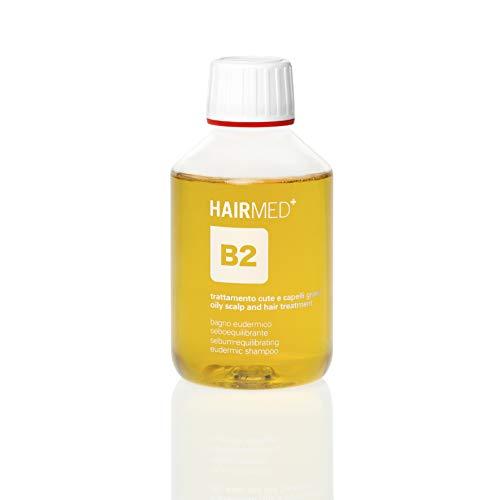HAIRMED - B2 Shampoo Capelli Grassi Professionale - Shampoo Antisebo e Seboregolatore - 200 ml