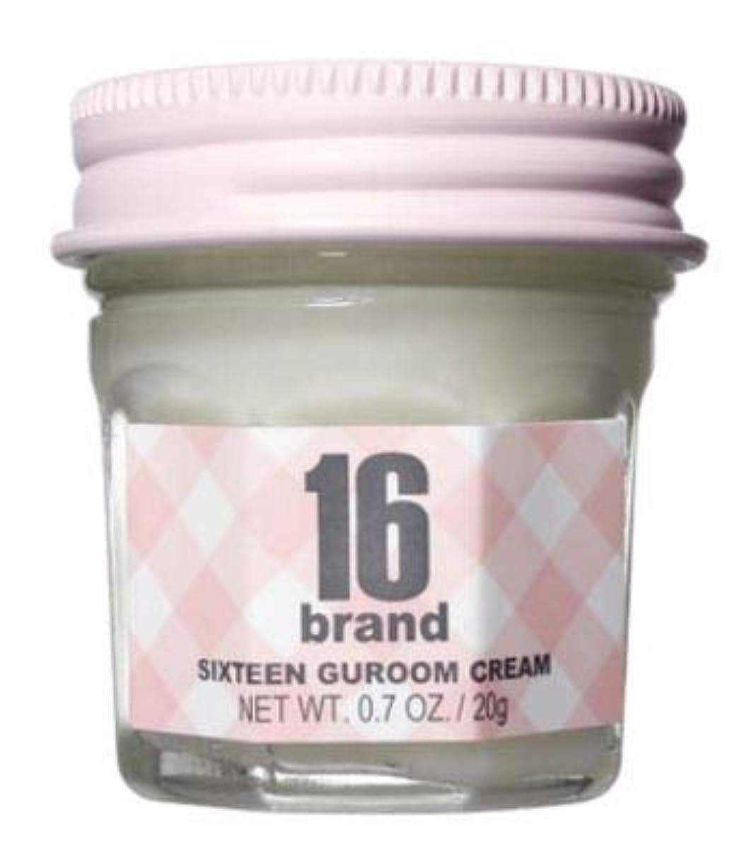 調整可能東化合物[16brand] SIXTEEN GUROOM CREAM 20g /[16ブランド]16 グルム クリームエネルギーバーム 20g [並行輸入品]