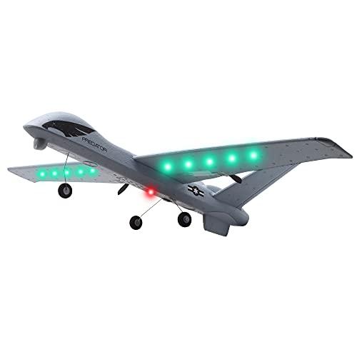 Assemblaggio DIY Glider Super Big Big 26'Wingspan Kit Telecomando Aereo Glider Epp Gyroscope Integrato Gyroscope Rc Aereo UAV Modello di Aeromobili LED