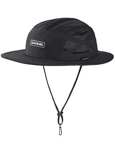 DAKINE Kahu Surf Hat Black 10002457 - Dry rápido - Unisex - Sombrero Flotante diseñado para el Uso del Agua - ala de Espuma de Estilo híbrido