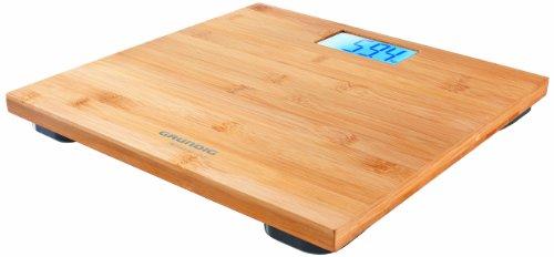 Grundig Premium Pèse-personne en Bambou