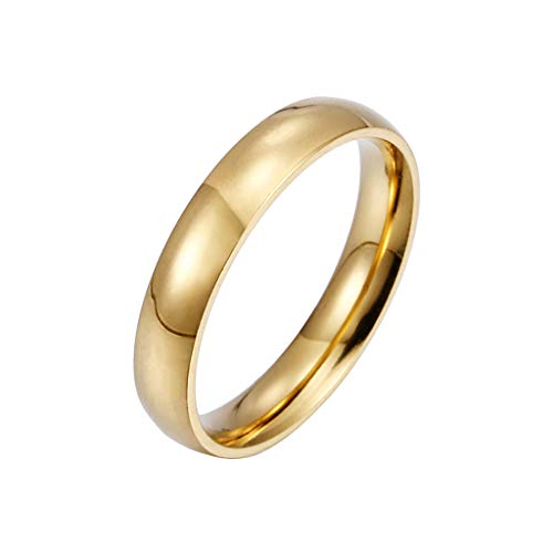 Rings for WomenFashion Simple Stainless Steel Women's Ring Simple Couple Ring Size 5-13Jewelry & Watches Christmas for Faclot