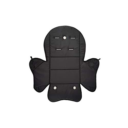 Aveanit RÖMER JOCKEY Relax Sitzpolster № 5 Bezug Ersatzbezug Sitzkissen für Fahrradsitz, Kompatibel mit RÖMER JOCKEY (Schwarz Wasserdichtes)