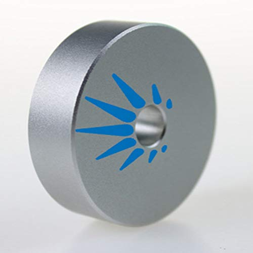 """45 RPM Adapter Solid Aluminum for Most Vinyl Record Turntables 1.8oz Replaces Standard 7"""" Singles Adaptor. for Serious Audiophiles That Want to get The Best Sound Out of Their Collection"""