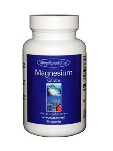 Allergy Research Group - Magnesium Citrate 170 mg 90 caps by Allergy Research Group Allergy Research Group Magnesium