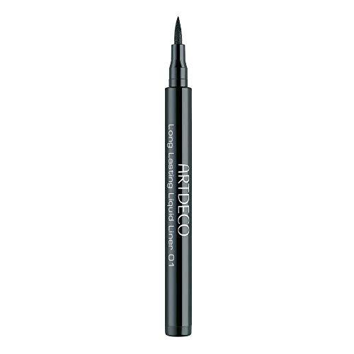 ARTDECO Long-Lasting Liquid Liner, Eyeliner schwarz, Nr. 1, black