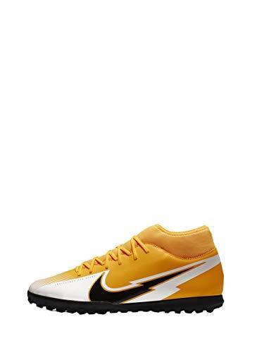Nike Superfly 7 Club TF, Football Shoe Unisex-Adult, Laser Orange/Black-White-Laser Orange, 46 EU