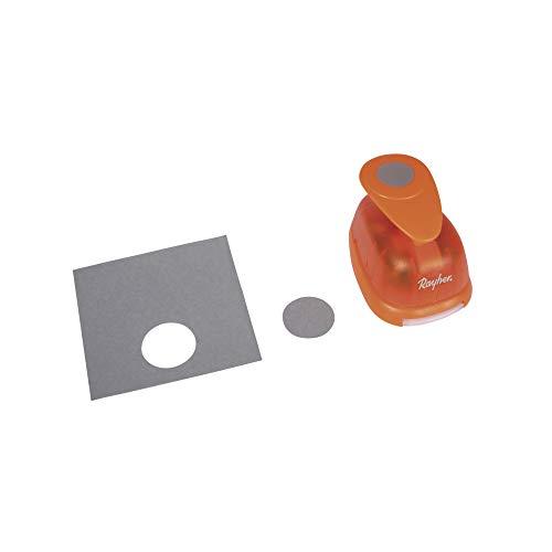 Rayher Hobby 69028000 Motivstanzer Rund/Kreis, ø 3,16 cm- 1 1/4 Zoll, geeignet für Papier/Karton bis zu 200g/m²