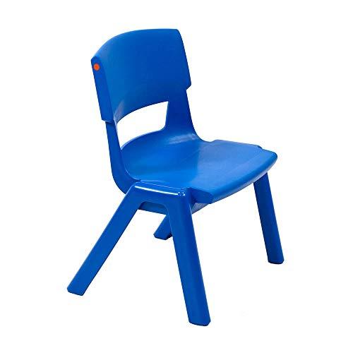 Silla escolar Postura Plus tamaño 2, 310 mm altura del asiento, color azul tinta 🔥