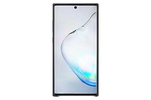 Samsung Leather Cover (EF-VN975) für Galaxy Note10+ | Note10+ 5g, Schwarz Black