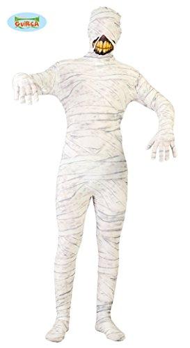 Guirca- Costume Mummia Adulto Uomo Tg.Unica, Colore Bianco, Taglia Unica, 8_10006867