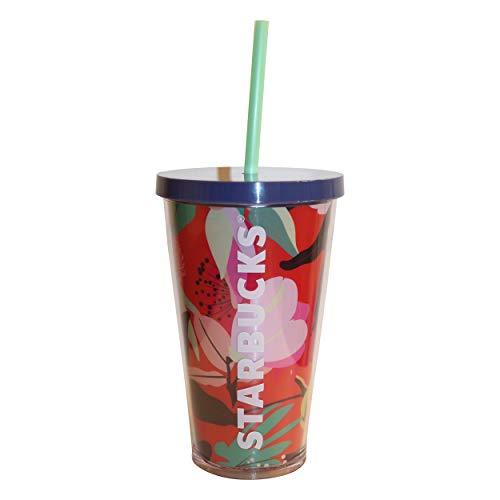 Starbucks® Pink Sun Floral Sommer Cold to go Sommer Smoothies Früchte Becher für Kaltgetränke