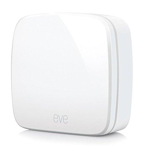 Eve Room - Sensore wireless per interni con tecnologia Apple Homekit, Bluetooth...