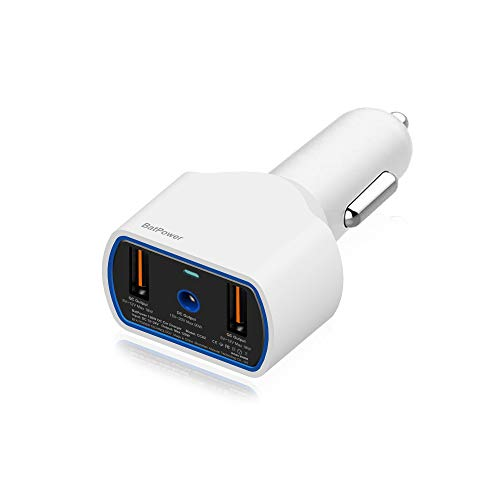BatPower CCA2 High Power Delivery 120W Laptop Car Charger Compatible with MacBook...