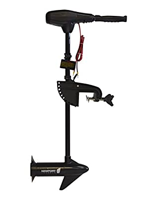 Newport Vessels NV-Series 36lb Thrust Saltwater Transom Mounted Trolling Electric Trolling Motor