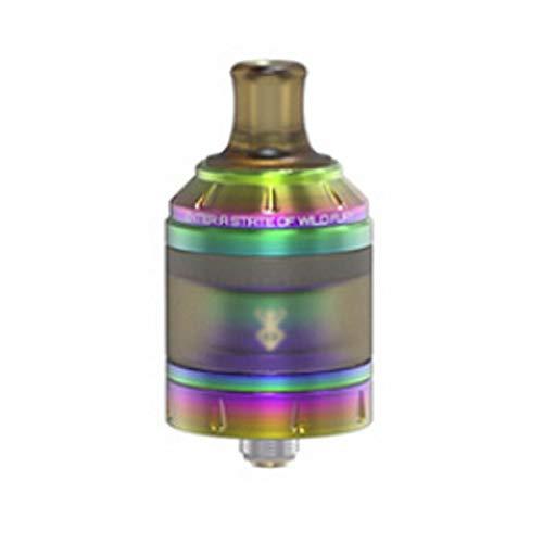 VandyVape Berserker RTA Clearomizer, Tankvolumen 2 ml / 4.5 ml, Durchmesser 24 mm, Selbstwickler MTL, Riccardo Verdampfer für e-Zigarette, rainbow