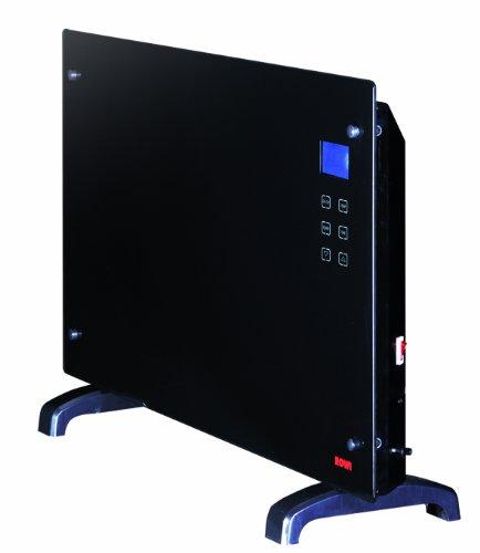 Rowi Glaswärmekonvektor 2000 W, Thermostat, LC-Display, Fernbedienung, HGK 2000/2/1 TDF Premium 1 03 03 0070