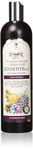 Traditionelle sibirische Zeder Shampoo, №1, 550ml, mit Propolis. Stärkung