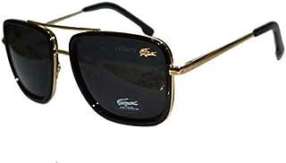 نظاره شمسية مربعة الشكل من لاكوست وقناع واق من الشمس موديل L143S