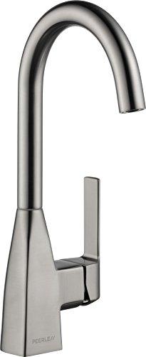 Peerless Xander Single-Handle Bar-Prep Kitchen Sink Faucet, Stainless P1819LF-SS