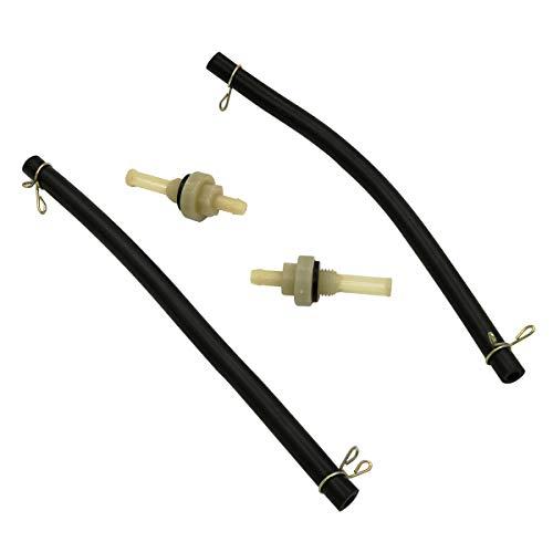 Cancanle Manguera de línea de Combustible y Filtro de Junta para Honda GX120 GX140 GX160 GX200 GX240 GX270 GX340 GX390 Depósito de Combustible del Motor