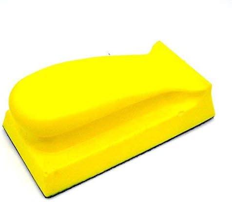 70 x 135mm Foam Hand Sanding Max 86% OFF Ho Polishing Pad Manufacturer OFFicial shop Block for