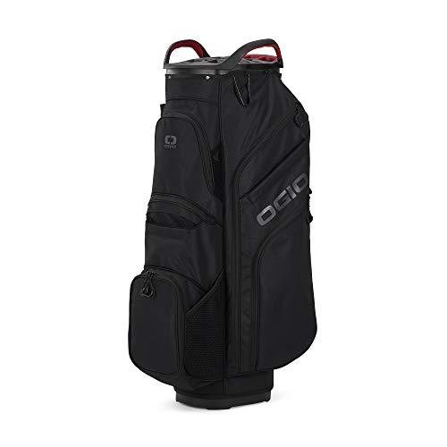 "Callaway mens OGIO 2021 WOODE 15 Cart Bag BLACK, 80"" W x 60"" L"