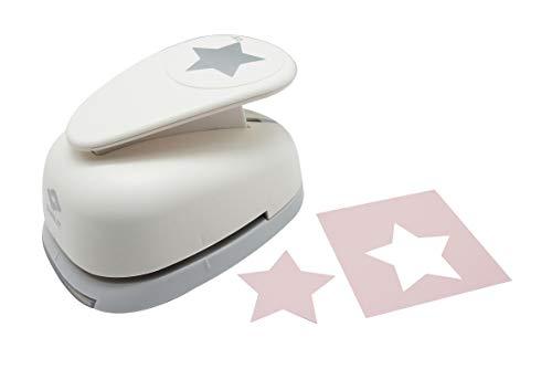 Bira - Perforadora de papel para manualidades (2,5''), diseño de estrella, para manualidades