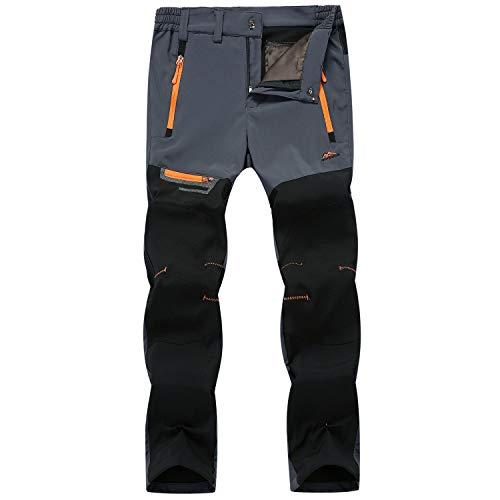 LUI SUI Pantaloni da Trekking da Uomo Pantaloni da Trekking Leggeri da Esterno ad Asciugatura Rapida