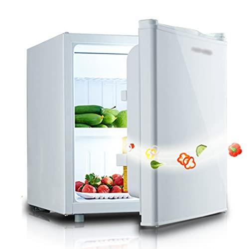 Nevera Pequeña De Una Puerta Nevera Portátil Microcongelador Refrigerado Pequeño Silencioso Control De Temperatura Ajustable De 7 Velocidades ( Color : Blanco , Size : 44.5*47*50.1cm )