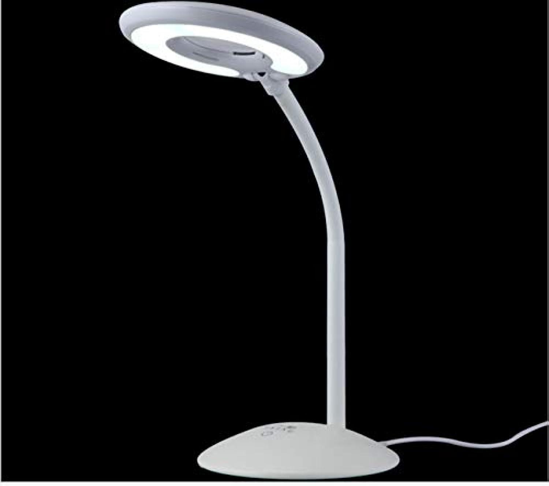 Augenschutz Tischlampe Tischlampe LED Student Schlafzimmer Lesung Touch Tischlampe Dimmen USB Lade Geschenk Tischlampe