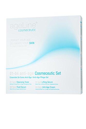 ageLine cosmeceutic 01-04 anti-age Cosmeceutic Set, 1er Pack (1 x 4 Stück)