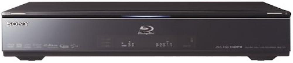 SONY 320GB 2チューナー ブルーレイレコーダー BDZ-T75