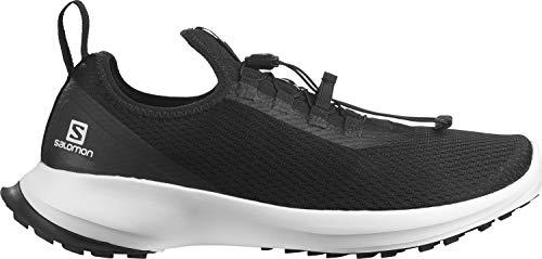 Salomon Herren Sense Feel 2 Trail Running Shoe, Schwarz Weiß, 44 EU