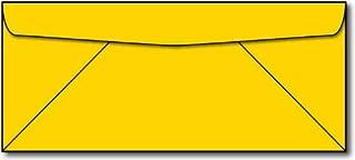 Bright Yellow #10 Business Envelopes - 100 Envelopes - Desktop Publishing Supplies™ Brand Envelopes