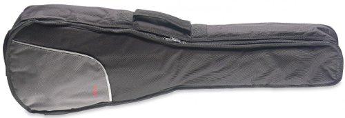 Stagg UKB10-BAG Nylon Gig Bag for Baritone Ukulele with 10-Millimetre Padding and Strap - Black