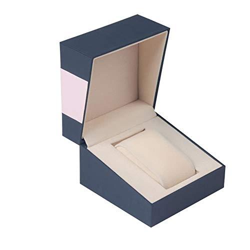 watch box Caja de Reloj Caja de Reloj portátil al por Mayor Caja de Pulsera Caja de Reloj con Cierre Oblicuo Una Caja de Reloj