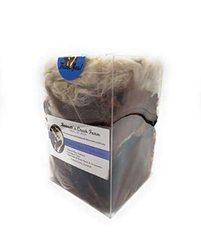 All Natural Alpaca Fiber Bedding Material